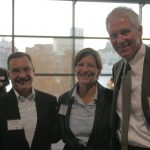 Joe Lombardo of Gulfstream® with founder Cort Atkinson and Emcee Dain Dunstan.